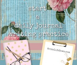 How to start a daily journal writing practice